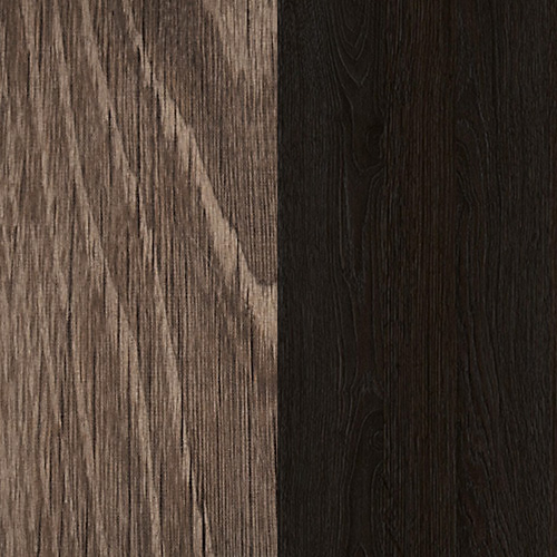 Dark/smoked oak